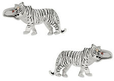 Tiger Cufflinks with Eyes