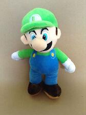 Super Mario felpa De Peluche Juguete Suave-Luigi-size: 25 cm-Nuevo