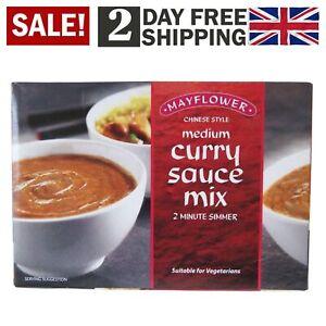 Mayflower Medium Chinese Curry Sauce Mix 9 X 255g Pack Of 6