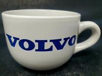 HTF Vintage Very Large VOLVO Blue and White Mug Cup M Ware China