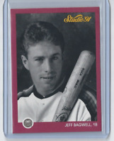 1991 Studio #172 - Jeff Bagwell Houston Astros HOF - Rookie Mint