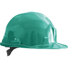 Helm Bauhelm Bauarbeiterhelm Schutzhelm Arbeitshelm Grün NEU TOP Gr. 53-61 EN397