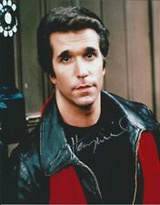 Henry Winkler Happy Days The Fonz autographed 8x10 photo with COA by CHA