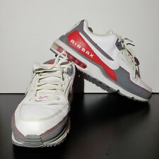 Nike Air Max LTD 3 Wolf Grey/Red/White Men's Size 13 687977-166 Sneakers