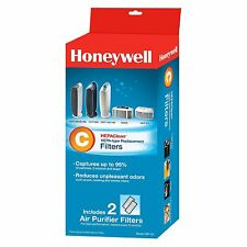 New Honeywell C Air Purifier 2-pack Hepa- type Replacement Filter