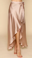 NEW -  STUNNING POP CHERRY - Wrap Around Maxi Skirt - Dusty Pink - Size M