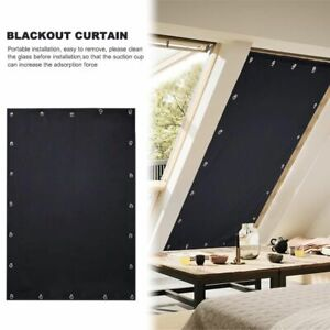 Window Blackout Blind Room Shade Portable Sunscreen Baby Travel Adjustable Block
