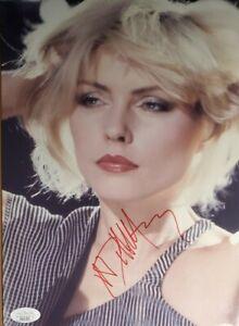 Deborah Harry Authentic Signed 8x11 Photo W/ JSA COA Blondie