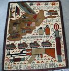 AFGHAN WAR HAND MADE RUG 100% WOOL HAND KNOTTED SHOWING TANKS, Riffles, Grenades