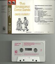 DAVID MUNROW-TWO RENAISSANCE BANDS CASSETTE(EMI)