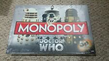 NEW in SEALED package 2012 Monopoly Dr. Who 50TH anniversary collectors edition!