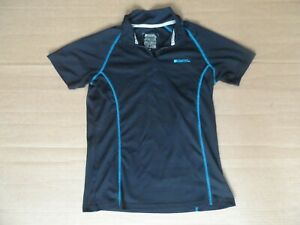 Womens Mountain Warehouse Iso cool Cycling Gym Top Size 12 UK Short Sleeve.