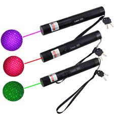 Laserpointer 303 Grün 1MW 532NM Strahl Sichtbar Beam Light +18650 + Ladegerät