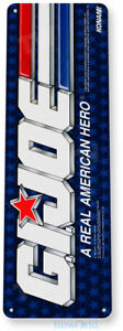 Gijoe Arcade Sign, Classic Arcade Game Marquee, Game Room Tin Sign C478
