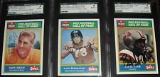 1990 Swell Greats CRAZYLEGS HIRSCH Signed AUTO CARD #61 SGC AUTHENTIC (d. 2004)
