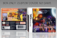 NINTENDO DS : LUNAR KNIGHTS. ENGLISH. COVER + ORIGINAL BOX. (NO GAME).
