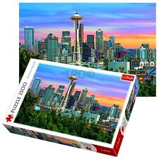 Trefl 1500 Piece Adult Large Seattle Space Needle USA Jigsaw Puzzle NEW