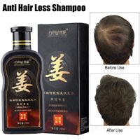 200ml Natural Ginger Shampoo Oil-Control Anti Dandruff Anti Hair Loss Hair Care
