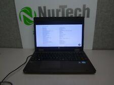 "HP ProBook 15.6"" 6570b i5-3210M  2.5GHz 8GB/160GB Linux Laptop NO BATTERY +AC"