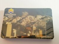 Salt Lake 2002 Olympics Playing Cards Souvenir NEW