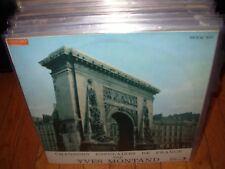 YVES MONTAND chansons populaires ( world music ) france - odeon -