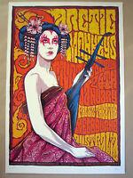ARCTIC MONKEYS PALAIS  MELBOURNE 09 CONCERT POSTER  ART KEN TAYLOR  NUMBERED
