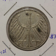 1951 F  - 5 Marks Germany - KM# 112.1