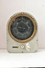 Vintage Sperry Gyro Compass Repeater Course Indicator Marine Nautical US NAVY