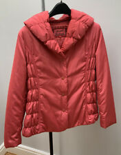Stunning Pink M&S Per Una Padded Coat Size 14 Worn Once Free P&P