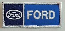 Vintage Ford Motor Company Rectangle Uniform Patch Embroidered Unused NOS 9042