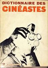 DICTIONNAIRE DES CINEASTES - GEORGES SADOUL - ED. DU SEUIL, 1965