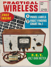 April Science & Technology Practical Wireless Magazines