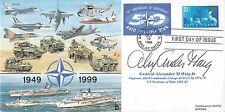JS(CC)61g 50th Anniv NATO Signed General Aleexander M  Haig  White House Chief o