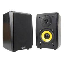 Regal-Lautsprecher Dynavox TG-1000B, Schwarz, Paar, Satelliten Kleine HiFi Boxen