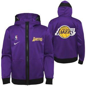 Nike NBA Youth (8-20) Los Angeles Lakers Lightweight Hooded Full Zip Jacket