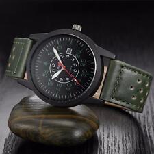 Luxury Men's Date Sport Analog Stainless Steel Milltary Quartz Wrist Watches