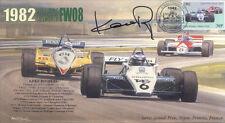 1982b Williams-Cosworth 08 Dijon-Prenois F1 couvrir signé Keke Rosberg