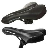 Dunlop Bicycle Bike Cycle MTB Saddle Mountain Road Sporty Padded Seat Universal