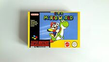 Pudełko do gry Super Mario World na SNES/ Super Mario World Box for SNES