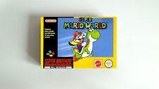 Pudełko do gry Super Mario World na SNES/ Super Mario World Box for SNES