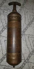 Vintage Pyrene Fire Extinguisher Brass One Quart Made in Canada Empty