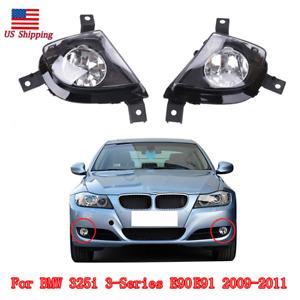 1 pair Fog Light Driving Lamps For BMW 3-Series E90 E91 328i 335i 335d 2009-2011