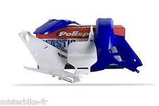 KIT PLASTIQUES COQUES POLISPORT YAMAHA YZ80 1991-2201 Couleur Bleu/Blanc