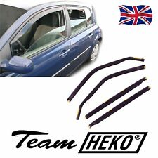 DRE27146 RENAULT MEGANE mk2 2002-2008 WIND DEFLECTORS Internal 4pc HEKO TINTED