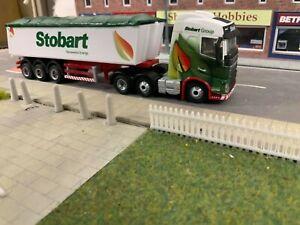1:76 Code 3 Stobart Biomass Volvo and Tipper trailer