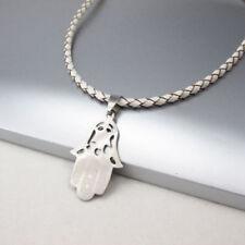 Unisex Modeschmuck-Halsketten & -Anhänger aus Leder Zeichen- & Symbolen