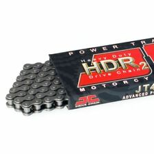 JT Chaine de Transmission 420 HDR 128 Maillons Attache - Rapide Inclus