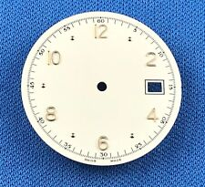 Unbranded Wrist Watch Dial 27.5mm -Swiss Made- Date Window At 3  #757