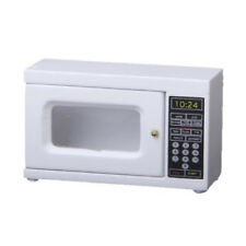 Microwave 1: 12 Scale miniature for doll house (white)