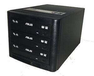 Copystars CD DVD 1-2 SATA Copier multi dual Asus/LG  Burner Duplicator 24X Tower